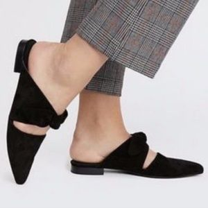 New JEFFREY CAMPBELL Bow Mules in Black Size 8